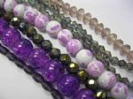 Pretty Purples Sparkle Bead Collections